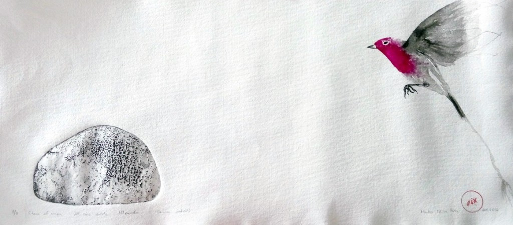 pedra ,ocell 30 x65cm